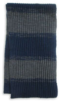 Hudson North Ribbed Rugby Stripe Scarf