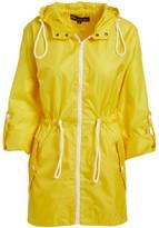 Big Chill Women's Non-Denim Casual Jackets Yellow - Yellow Pack-in-Pocket Ripstop Anorak - Women