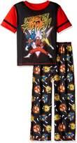 """Komar Kids Power Rangers Big Boys' """"Unleash the Power"""" 2-Piece Pajamas"""