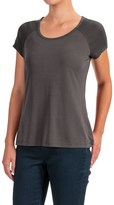 Cynthia Rowley Luxe Shirt - Short Sleeve (For Women)