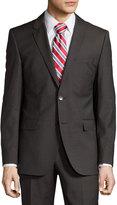 HUGO BOSS James/Sharp Modern-Fit Two-Piece Suit, Dark Brown