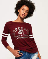 Superdry Trackster Baseball Top