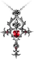 Alchemy Gothic Renaissance Cross of Passion Pendant w/ Necklace