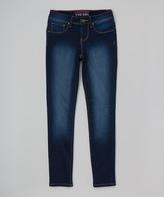 YMI Jeanswear Dark Wash Skinny Jeans - Girls