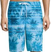 Speedo Palm Stripe E-Board Shorts