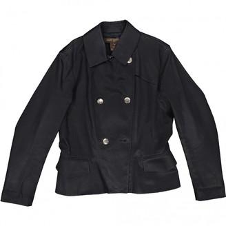 Louis Vuitton Black Cotton Trench coats