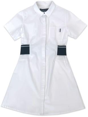 Whyte Studio The Duty Short Sleeve Dress White