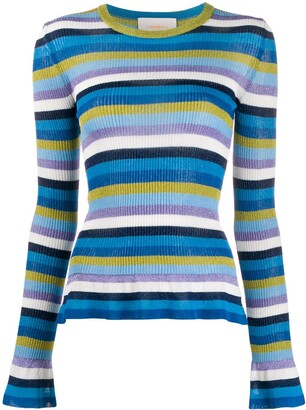 La DoubleJ striped jumper