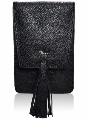 Oak leathers Crossbody-Bags for Women Genuine Leather - Small Multi-Pocket Adjustable travel Bag