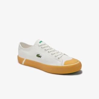 Lacoste Men's Gripshot Textured Canvas and Synthetic Sneakers