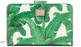 Dolce & Gabbana Printed Textured-leather Wallet - Green