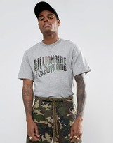 Billionaire Boys Club T-Shirt With Space Camo Arch Logo In Grey