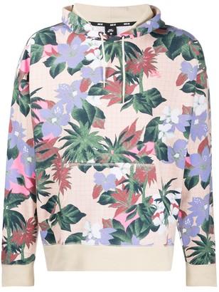 Nike SB floral-print cotton hoodie
