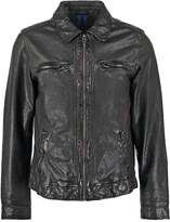 Oakwood Harper Leather Jacket Noir