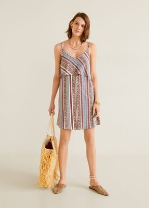 MANGO Double layer dress