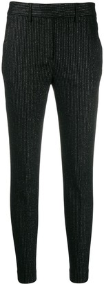 Dondup Pinstripe Slim-Fit Trousers