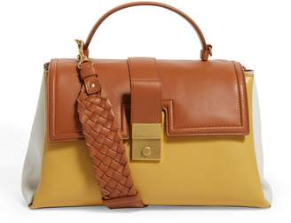 Bottega Veneta Large Piazza Top Handle Bag