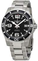 Longines Hydroconquest Sport Black Dial Stainless Steel Men's Watch
