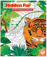 Hidden: Fur Coloring Book