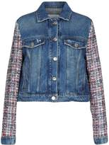 MSGM Denim outerwear - Item 42638850