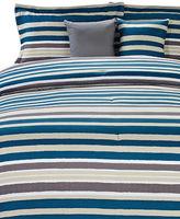 Marseilles Masin Stripe Five-Piece Comforter Set
