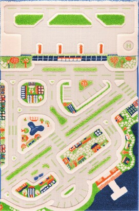 Luca And Co Mini City Play Rug