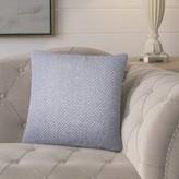Starbuck Solid Throw Pillow Gracie Oaks Color: Indigo