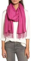 Nordstrom Women's Tissue Weight Wool & Cashmere Scarf
