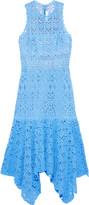 Jonathan Simkhai Asymmetric Crocheted Cotton Midi Dress