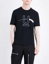 Undercover Light refraction-print cotton T-shirt