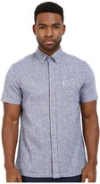 Ben Sherman Short Sleeve Plain Linen Woven MA12430A