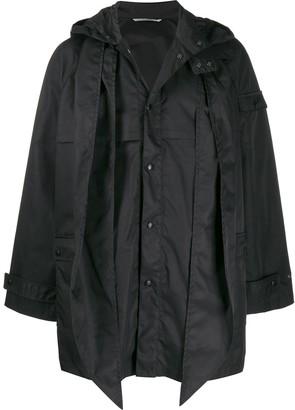 Valentino logo print jacket