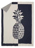 Split Pineapple Throw