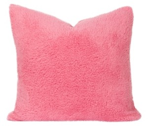 "Crayola Playful Plush Cotton Candy 20"" Designer Throw Pillow"
