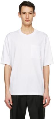 Acne Studios White Pocket T-Shirt