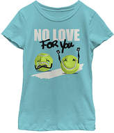 Fifth Sun Tahiti Blue 'No Love for You' Tee - Girls