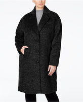 Jones New York Plus Size Brushed Peacoat