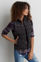 American Eagle Outfitters AE Quilted Vest