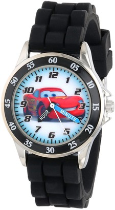 Disney Kid's Cars Watch Learn How to Tell Time - Kid's Time Teacher Watch with Official Cars Character on The Dial