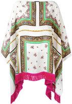 Etro floral print tunic - women - Silk/Viscose - One Size