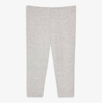 Joe Fresh Baby Girls Essential Legging, Light Grey Mix (Size 18-24)