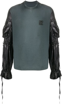 Telfar Grey Pocket-Sleeve T-Shirt