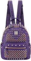 MCM Special Stark Embellished Mini Backpack, Purple