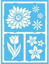 Americana Floral Breeze Self-Adhesive Stencil