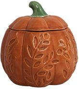 Celebrate Fall Together Harvest Applewood Pumpkin Candle Jar