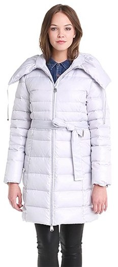 Via Spiga Pillow Collar Down & Feather Coat (Online Only)