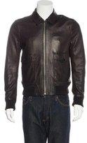 Burberry Lambskin Harrington Jacket