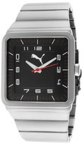 Puma Men's Take Pole Position Black Dial Stainless Steel PU102511006 Watch
