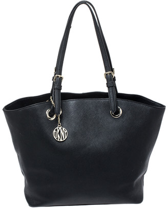 DKNY Black Leather Tote