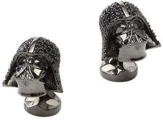 Cufflinks Inc. Star Wars Darth Vader Crystal Helmet Cufflinks